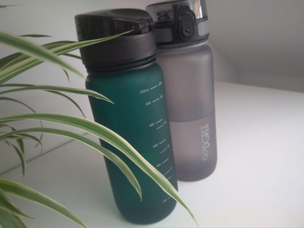 720 dgree Trinkflasche ohne Plastik in zweierlei Farben
