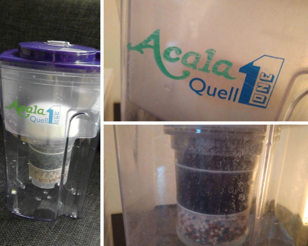 Ein Wasserfilter verhindert eine Verkalkung des Wasserkochers.