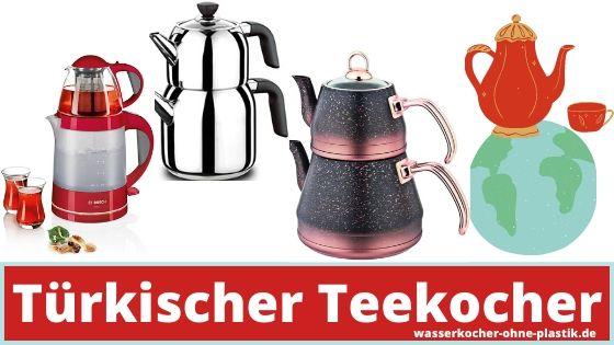 Türkischer Teekocher