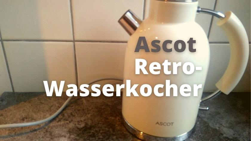 Ascot Retro Wasserkocher