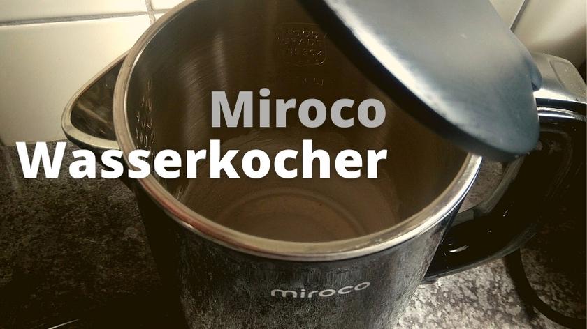 Miroco Wasserkocher