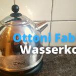 Der Elegante: Ottoni Fabbrica Wasserkocher ohne Plastik (Test 2021)