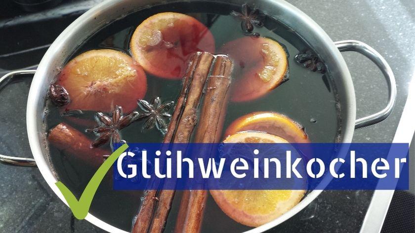 Glühweinkocher für den Winter
